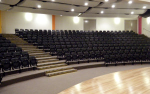 Pacific Hills Christian School: Retractable Seating