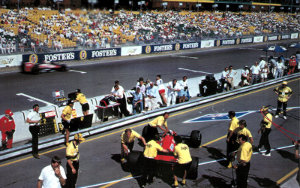 Adelaide Grand Prix: Portable Seating