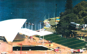 Sydney Opera House: Portable Stadium Tiered Seating