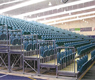 The Invercargill System | Portable Stadium Tiered Seating