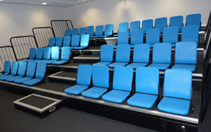 A K Reserve Perth: Retractable Seating
