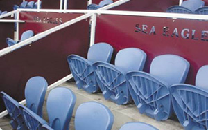 Brookvale Oval Corporate Boxes: Stadium Seating