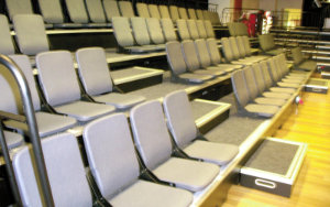 Erina Youth Centre: Retractable Seating