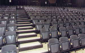 Hordern Pavillion, Fox Studios, New South Wales: Retractable Seating