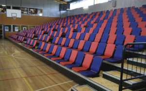 MacKillop College: Retractable Seating