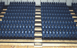 Marlborough Sports & Events Centre, Blenheim, New Zealand: Multi Purpose & Gymnasium Seating