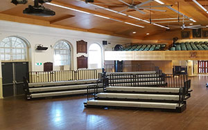 North Sydney Boys High School: Retractable Seating