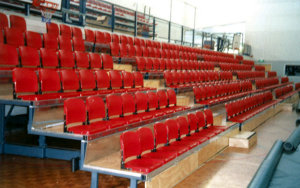 Otara Sport Recreation Centre: Retractable Seating