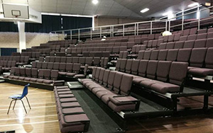 Rosebank College: Retractable Seating