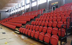 Sir John Guise Indoor Stadium, Port Moresby, PNG: Retractable Seating