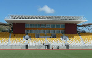 Sir John Guise Outdoor Stadium West, Port Moresby, PNG: Stadium Seating