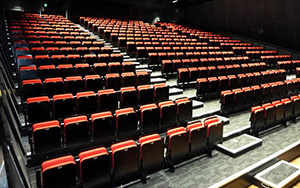 Springwood Community Civic Centre, N.S.W: Retractable Seating