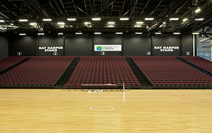 Stadium Southland, Invercargill, NZ: Retractable Seating