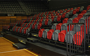 State Sports Centre, Sydney Olympic Park NSW: Retractable Seating