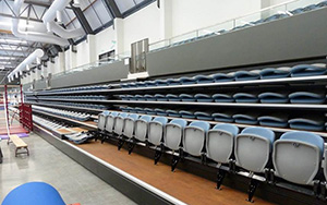 Sydney Gymnastics and Aquatic Centre, Rooty Hill: Retractable Seating