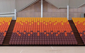 Taurama Squatic & Indoor Sports Complex, Port Moresby, PNG: Multi Purpose & Gymnasium Seating