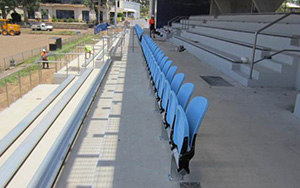 Valentine Sports , Glenwood NSW: Stadium Seating