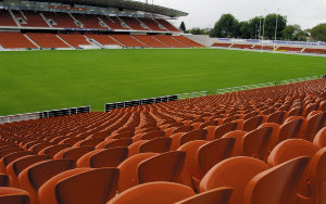 Waikato Football Events Centre: Stadium Seating