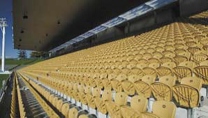 Yarrow Stadium NZ: Stadium Seating