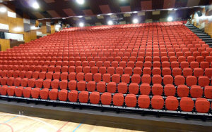 Kardinia College Victoria: Multipurpose & Gymnasium Seating