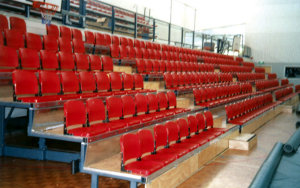 Otara Sport & Recreation Centre NZ: Retractable Seating