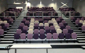 St. Monica's College: Retractable Seating