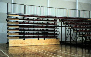 Taupo Sports Leisure Centre NZ: Retractable Seating