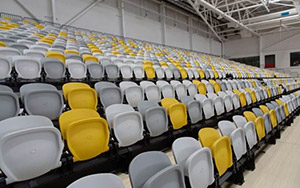 Carrara Indoor Sports Stadium: Multi Purpose & Gymnasium Seating