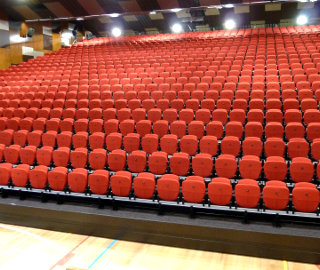 Retractable Seating | Educational Seating