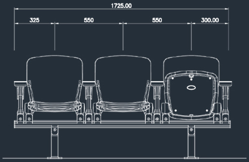 Apollo 2863SC/2865SC Series | Stadium & Arena Seating
