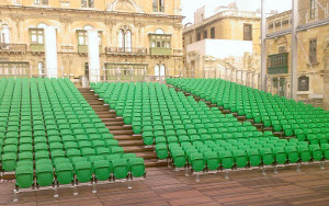 City Gate Malta: Stadium Seating