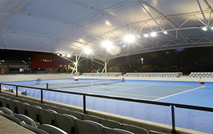 Marrara Indoor Tennis Centre, NT: Fixed Stadium Seating, Australasia