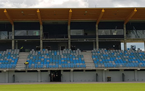 Warren Park Stadium, NT: Fixed Stadium Seating, Australasia